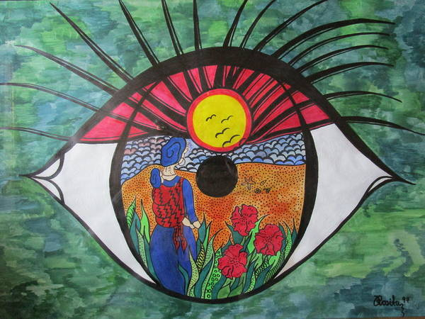 Eyewitness Art Print