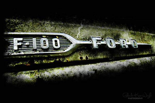 Photograph - F-100 Ford by Glenda Wright