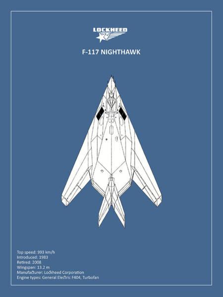 Wall Art - Photograph - F-117 Nighthawk by Mark Rogan