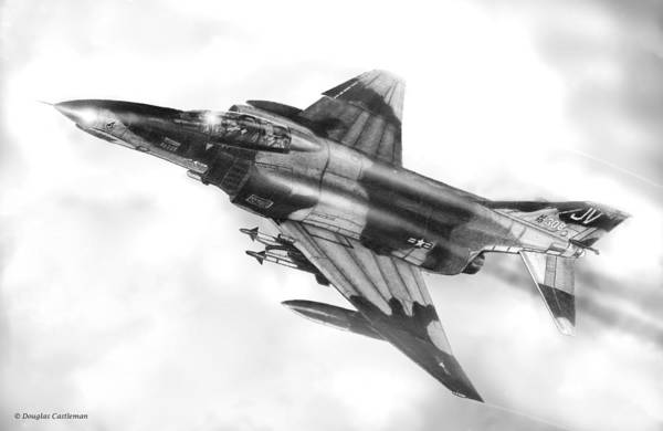 F-4e Phantom II Art Print