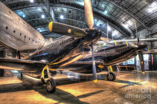 Star Wars 3 Wall Art - Photograph - F-82 Twin Mustang by Greg Hager