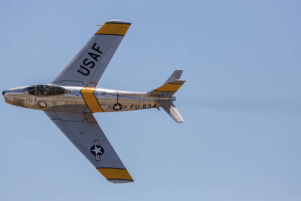 Photograph - F-86 Jolley Roger by John Daly