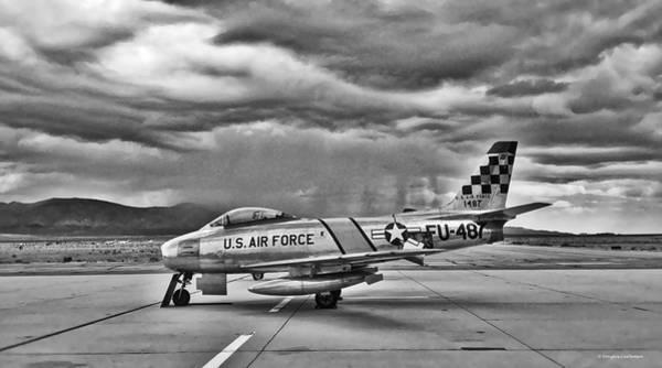 Photograph - F-86 Sabre by Douglas Castleman