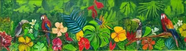 Hornbill Painting - F E E L S by Belinda Low