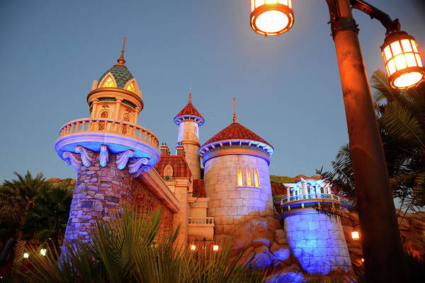 Disney World Photograph - Fantasy Land Architecture by David Lee Thompson