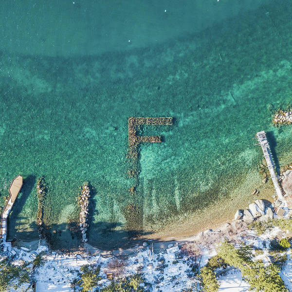F Marks The Spot Art Print