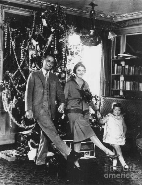 Photograph - F. Scott Fitzgerald Family by Granger