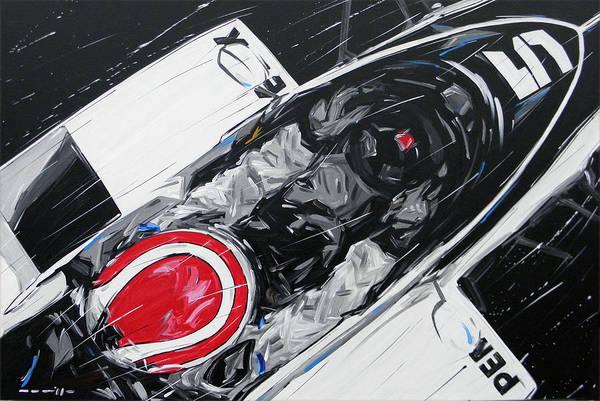 Alfa Romeo Painting - F1 Nelson Piquet Brabham 5 by Roberto Muccilo