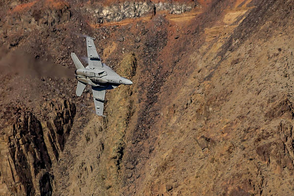 Photograph - F18 In Star Wars Canyon by Bill Gallagher