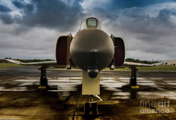 Interceptor Photograph - F4 Phantom by Mitch Shindelbower