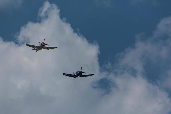 Hawker Sea Fury Photograph - F4u-4 Corsair - Sawbones Airplanes 12 by John Brueske