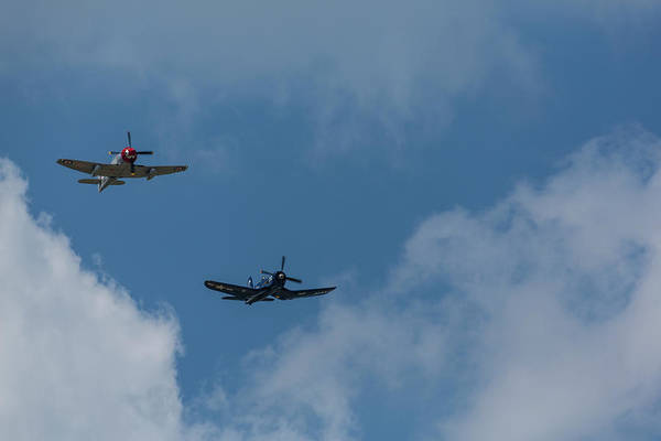 Hawker Sea Fury Photograph - F4u-4 Corsair - Sawbones Airplanes 13 by John Brueske