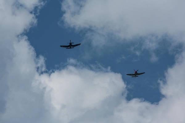 Hawker Sea Fury Photograph - F4u-4 Corsair - Sawbones Airplanes 5 by John Brueske