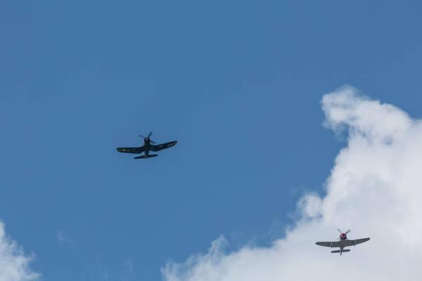 Hawker Sea Fury Photograph - F4u-4 Corsair - Sawbones Airplanes 6 by John Brueske