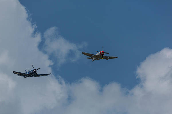 Hawker Sea Fury Photograph - F4u-4 Corsair - Sawbones Airplanes 9 by John Brueske