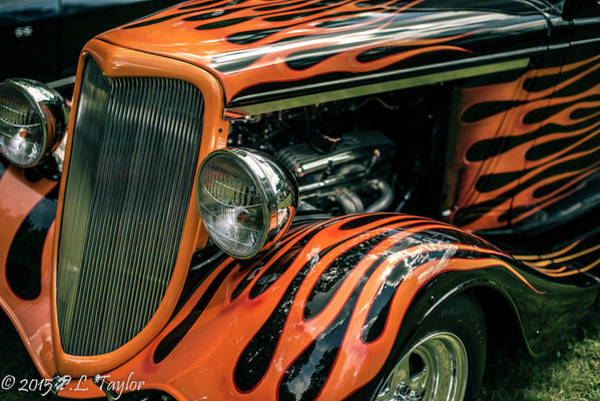 Rod Taylor Photograph - Fabulous Flames  by Pamela Taylor
