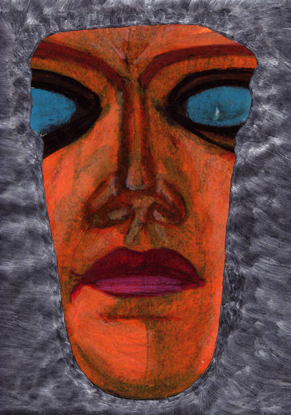 Popart Drawing - Face by Celebrity Popart