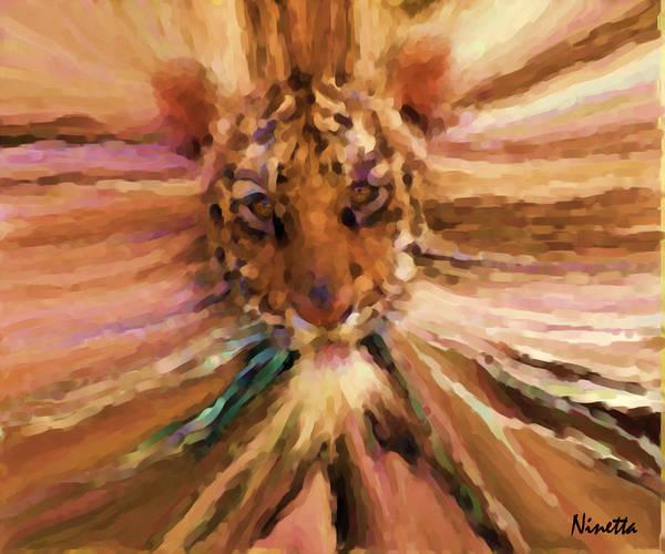 Face Art Print by Andrea N Hernandez