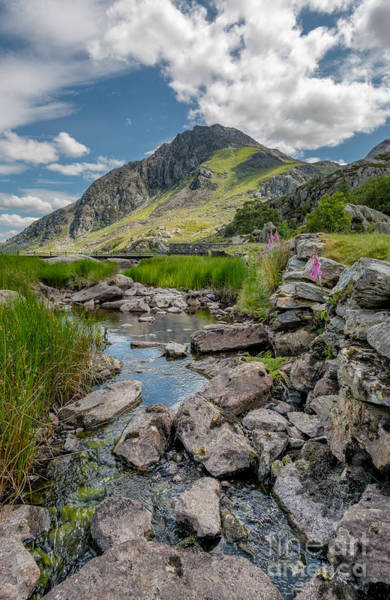 Snowdonia Wall Art - Photograph - Face Of Tryfan by Adrian Evans