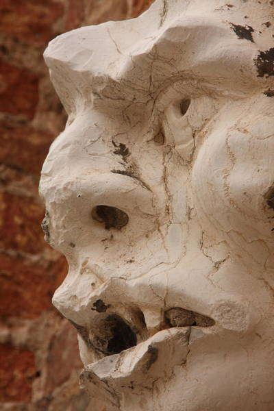 Wall Art - Photograph - Face On San Trovaso Bell Tower by Michael Henderson
