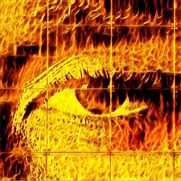 Nyc Digital Art - Face The Fire by Gina Callaghan