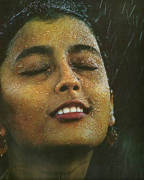 Configure Photograph - Face The Rain Apama Sen by Anne-Elizabeth Whiteway