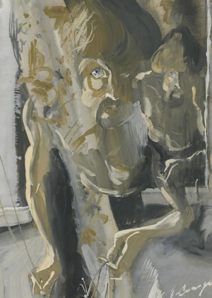 Painting - Face. Window Series by Igor Sakurov