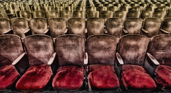 Seat Wall Art - Photograph - Face Your Audience by Evelina Kremsdorf