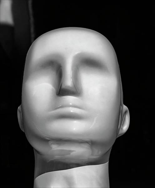 Faceless Photograph - Faceless Mannequin Head by Robert Ullmann
