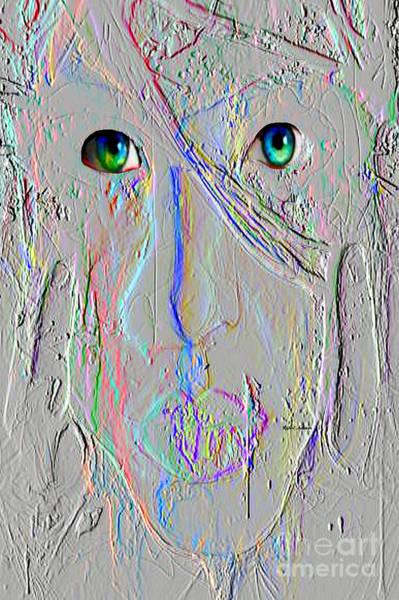 Digital Art - Faceless by Rafael Salazar