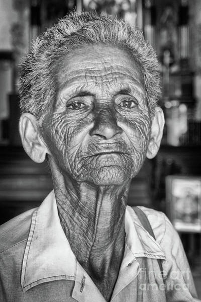 Photograph - Faces Of Cuba The Woman In Need by Wayne Moran