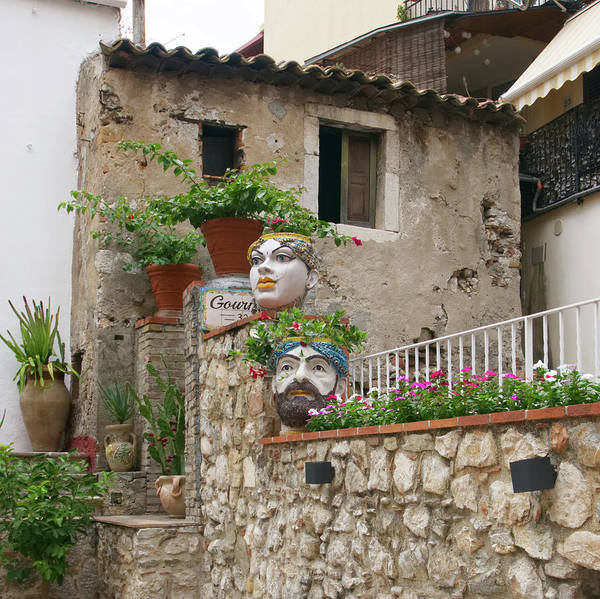 Photograph - Faces Of Taormina  by S Paul Sahm
