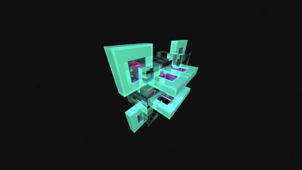Digital Art - Facets by Maye Loeser