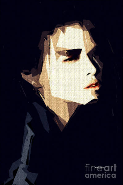 Digital Art - Facial Expressions II by Rafael Salazar