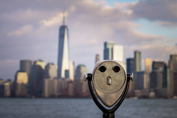 Photograph - Facing New York by Josh Eral