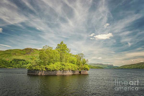 Wall Art - Photograph - Factors Isle On Loch Katrine by Antony McAulay
