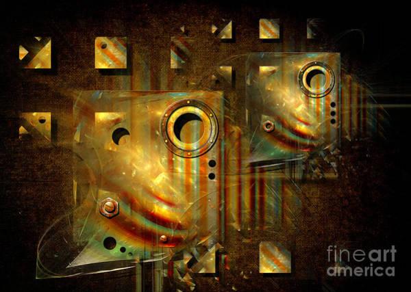 Digital Art - Factory Atmosphere by Alexa Szlavics