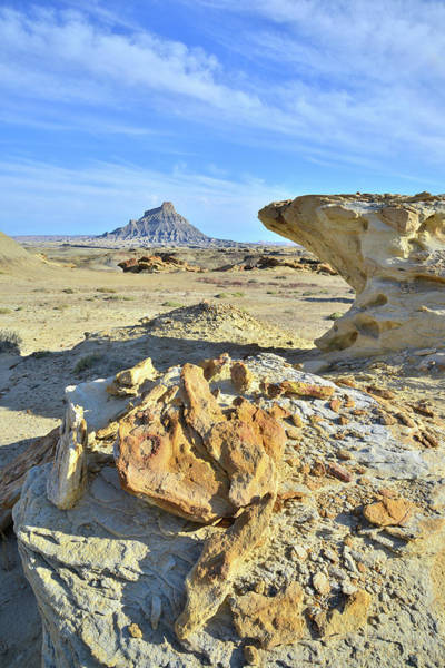 Photograph - Factory Butte Land by Ray Mathis