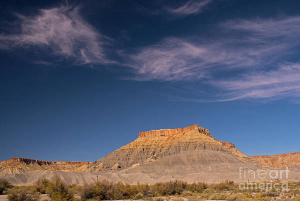 Photograph - Factory Butte Utah by Cindy Murphy - NightVisions