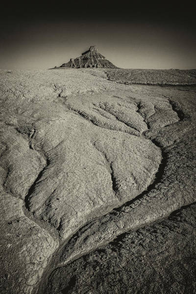 Photograph - Factory Butte2 by Whit Richardson