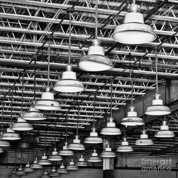Photograph - Factory Lights 1 by Patrick M Lynch