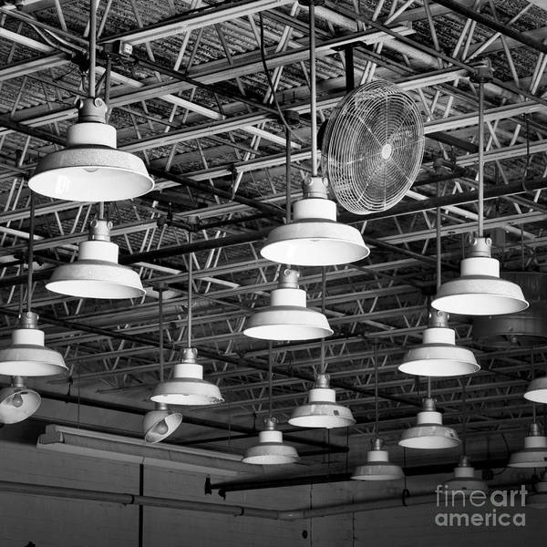 Photograph - Factory Lights 2 by Patrick M Lynch
