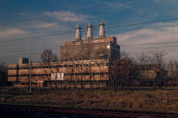 Factory Outside Budapest Art Print