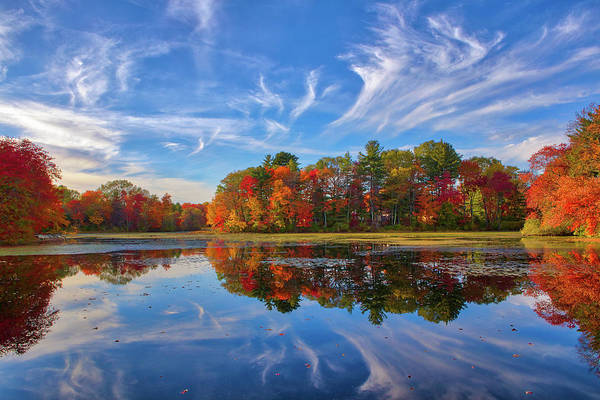 Photograph - Factory Pond Holliston Ma by Juergen Roth
