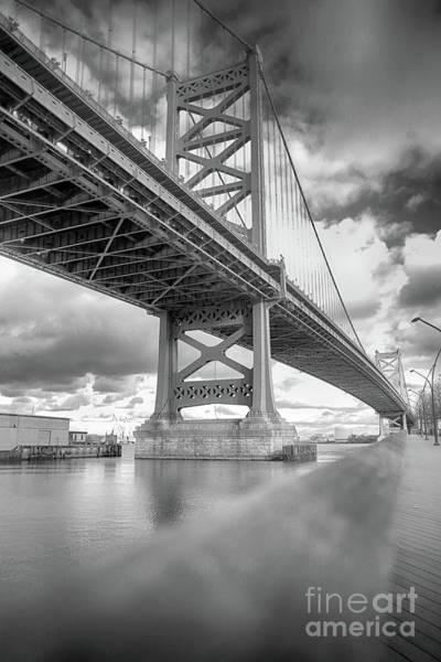 Fade To Bridge Art Print
