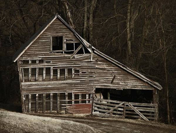 Wall Art - Photograph - Faded Barn by Chris Berry