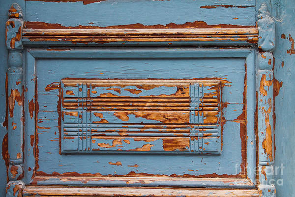 Photograph - Faded Door by Julia Rigler