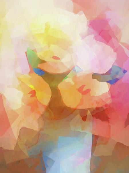 Painting - Faded Flowers by Lutz Baar