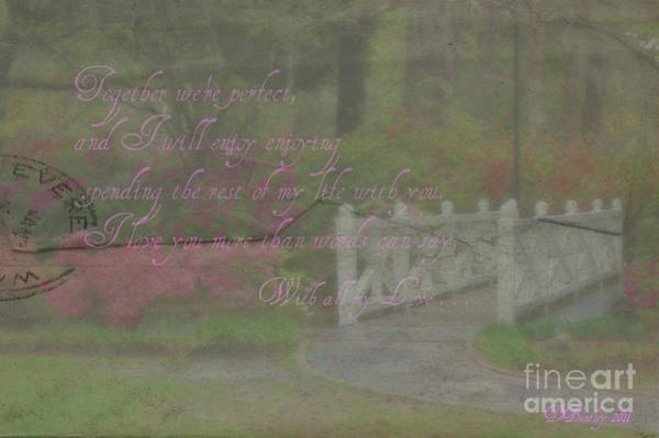 Photograph - Faded Love Letters6 by Donna Bentley