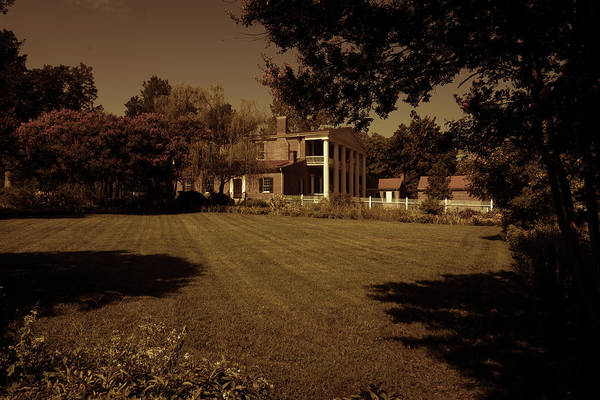 Photograph - Fading Glory - The Hermitage by James L Bartlett